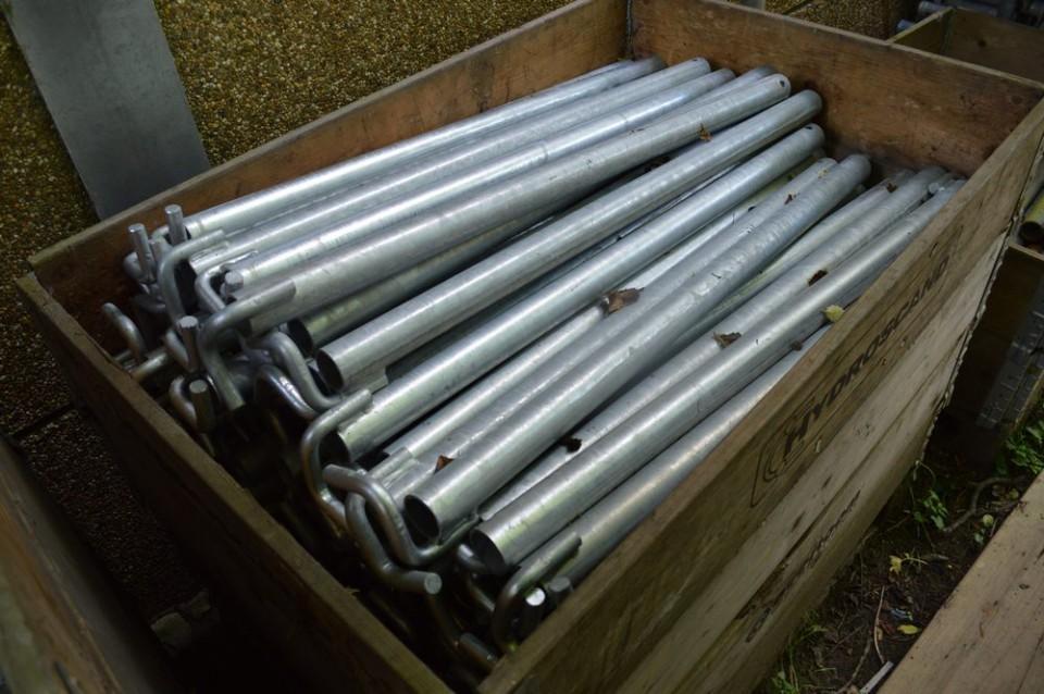 Ancrage 100 cm pour échafaudage verankeringen voor steiger