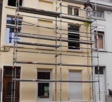 Echafaudage 30m² multidirectionnel pas cher à vendre chez LocAgnès Steiger allround te koop lage prijs bij LocAgnès