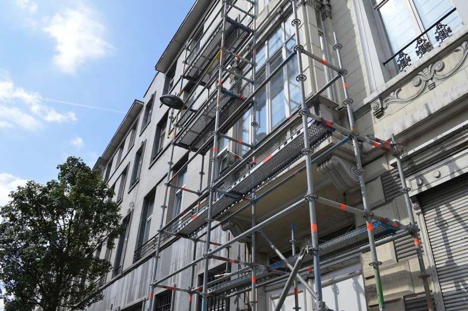 Echafaudage 60m² multidirectionnel pas cher à vendre chez LocAgnès Steiger allround te koop lage prijs bij LocAgnès