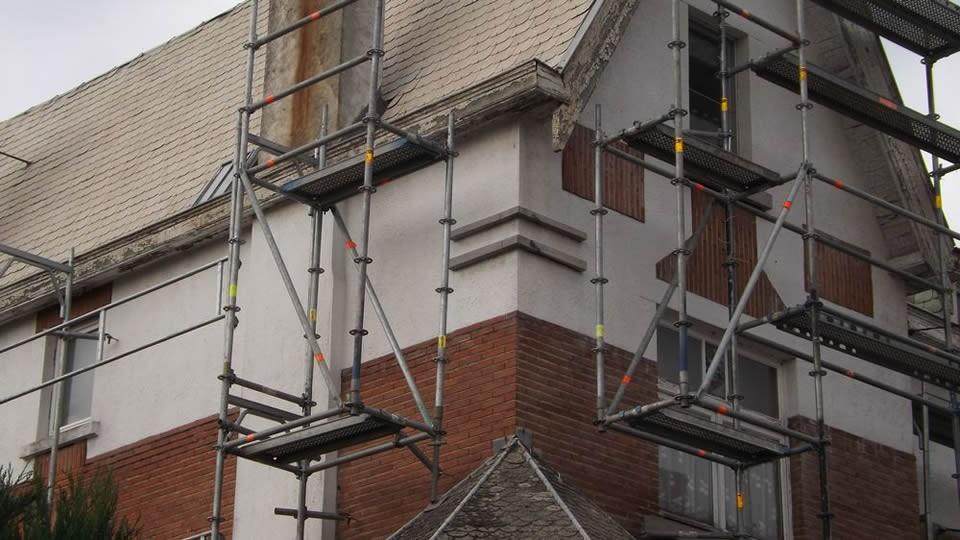 Echafaudage 82m² multidirectionnel pas cher à vendre chez LocAgnès Steiger allround te koop lage prijs bij LocAgnès